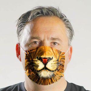 Mund-Nasen-Maske für Erwachsene #ZOORETTER-Motiv (Spende: 3,- Euro)