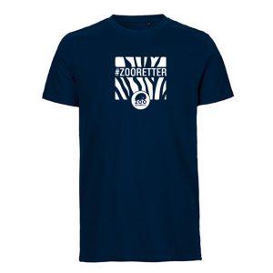 """T-Shirt """"#ZOORETTER"""" für Herren<br>(Spende: 6,- Euro)"""